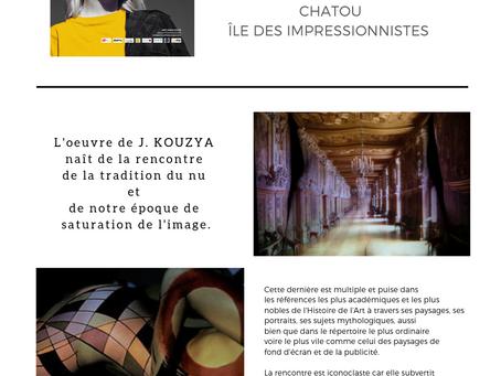 Salon d'Art Contemporain à Chatou du 29 au 31 Mars 2019