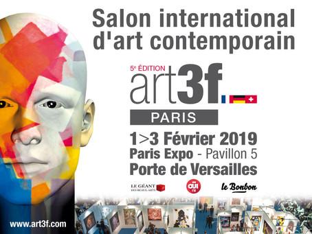 J.Kouzya à ART3F Paris.