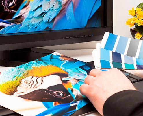 controle de qualidade na impressão