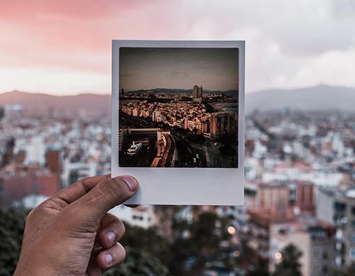 impressao de fotos polaroid