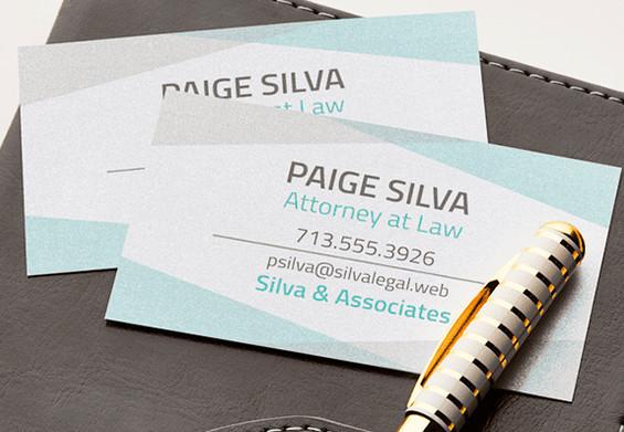 cartao de visita para advocacia