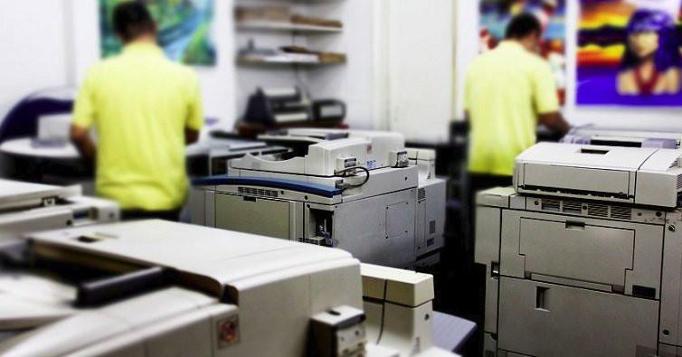 gráfica rápida com qualidade na impressão e no atendimento