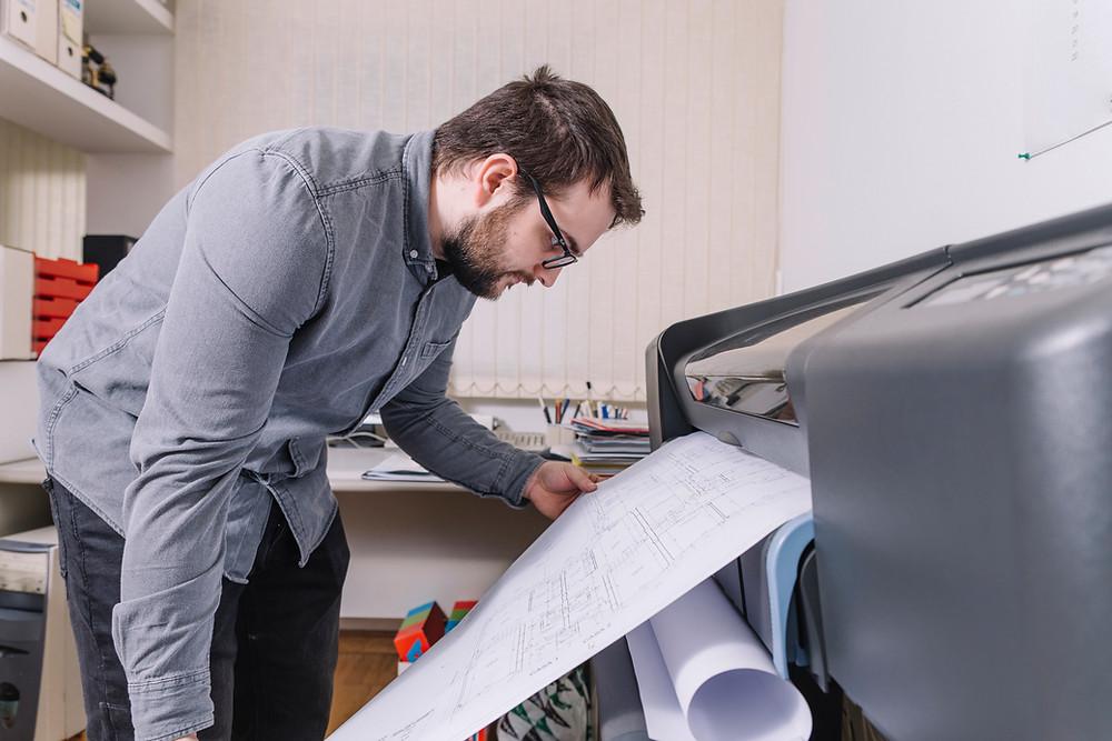 Impressão digital de Materiais Gráficos, Comunicação Visual e Plotagem