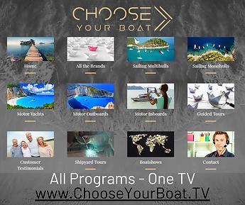 Choose your boat, media vidéo innovant, WebTV, agence de communication digitale nautique, video Media, web TV, communications agency specialized in yachting