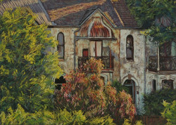 Needs a Paint-Cliff Terraces III.  55x75cm