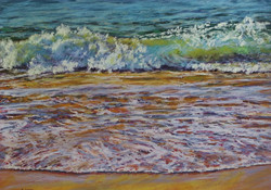 Beachscape II. 55x75cm.