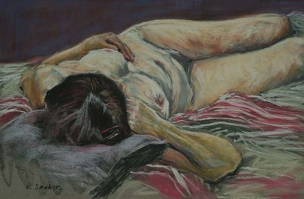 Untitled Nude III.   37 x 55cm