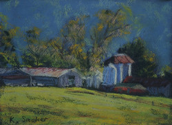 Kangaroo Valley 2014-2. 6x8in