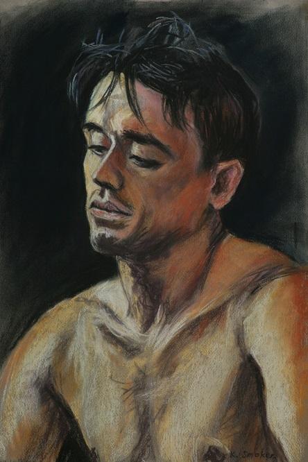 Michael Shelley.  55x37cm