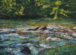 Barrengarry Creek II.  30 x 40cm