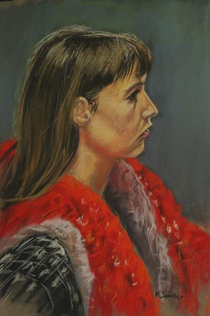 Anna-Georgia II.  55x37cm