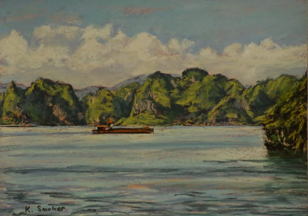 Halong Bay I. 9x12in