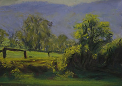 Kangaroo Valley VII.  6x8in