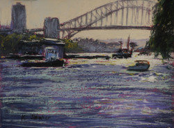 Early Morning, Snails Bay. 9x12in.
