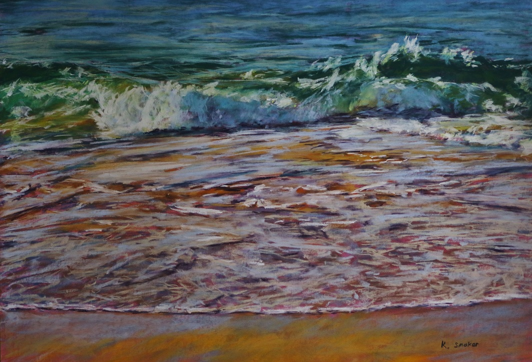 Beachscape I,  50x70cm.