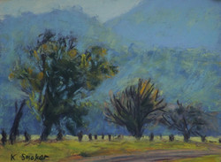 Kangaroo Valley  2014.1.  6x8in