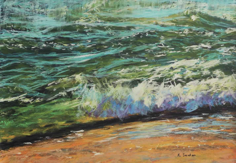Edge of the Water II. 17x23in