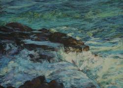 Coastal Splash.VI.  55x75 cm