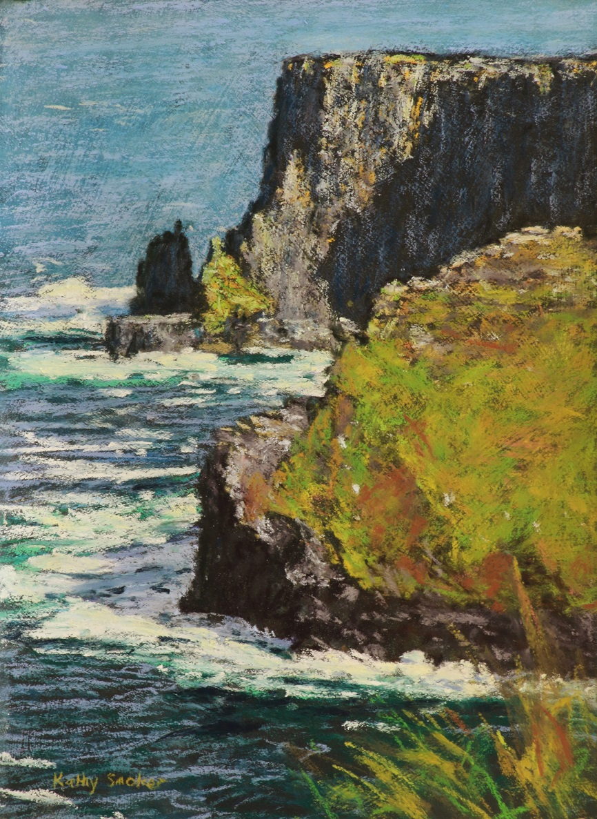 Cliffs of Moher I. 27x37cm