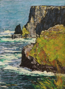 Cliffs of Moher I. 27x37cm