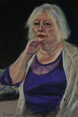 Annie Jones.    55x37cm