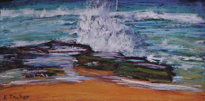 Turimetta Beach IV.  6x12in