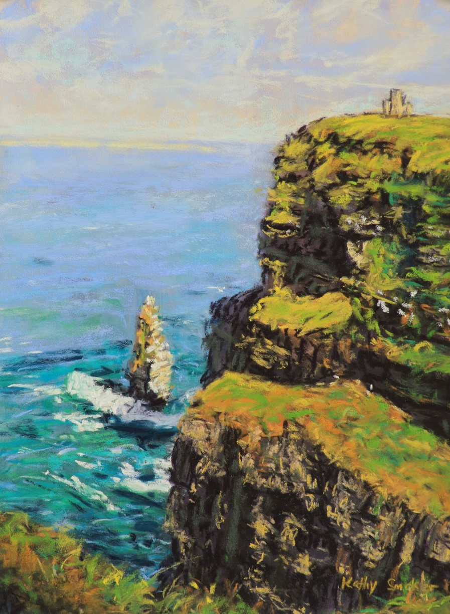 Cliffs of Moher II. 9x12in.