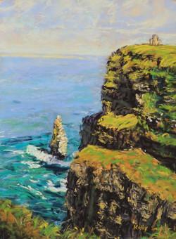 Cliffs of Moher II. 9x12in.