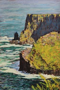 Cliffs of Moher III. 37x54cm