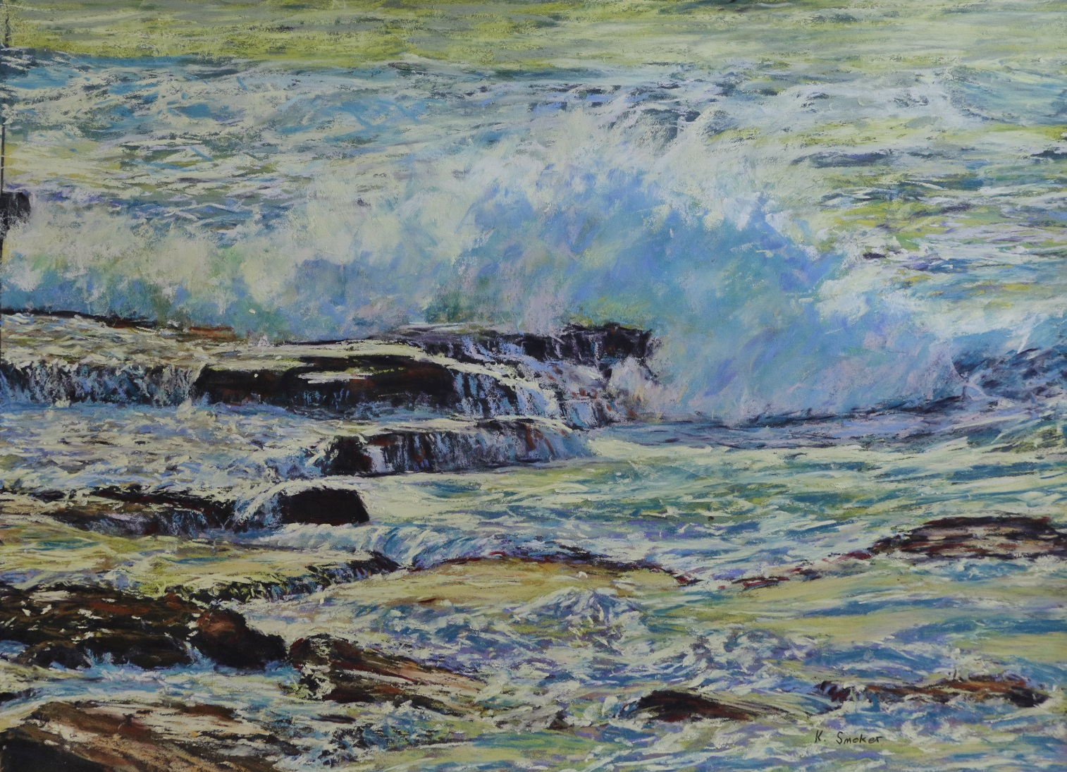 Maroubra Coast V. 17x23in.