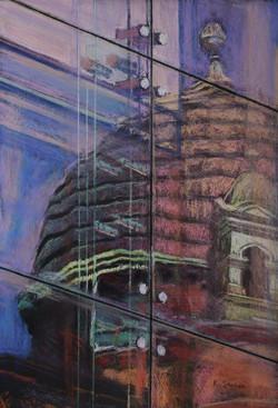 City Reflections 2.  55 x 37cm.