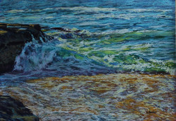 Beachscape IV.  55x75cm