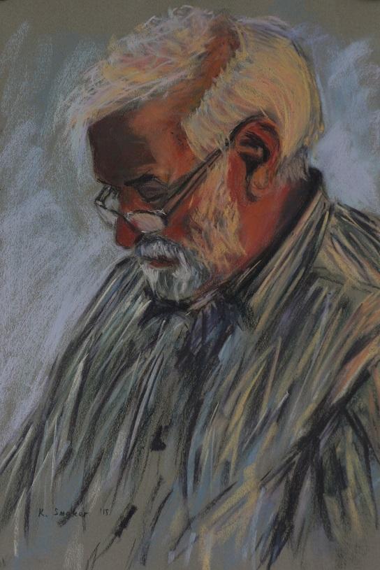 John, Gillian Grove's Father.  55x37cm.
