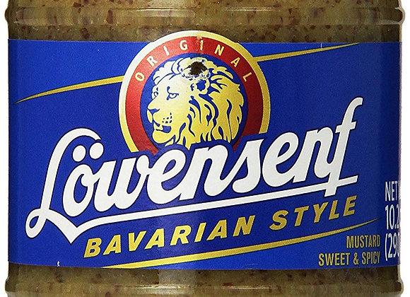 Lowensenf Sweet Original Bavarian Mustard 10.05oz.34oz