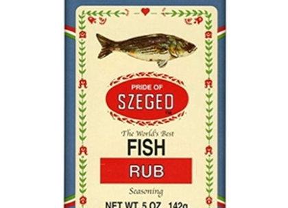 SZEGED Fish Rub