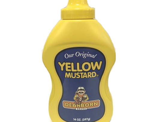 DEARBORN Yellow Mustard