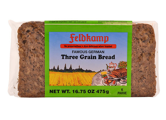 FeldKamp 3 grain Bread