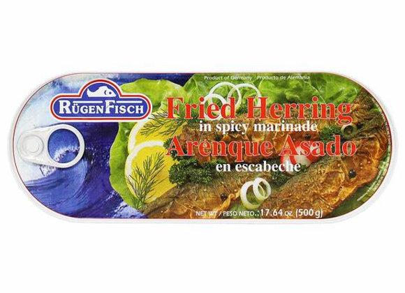 Rugen Fisch Fried Herring in spicy marinade