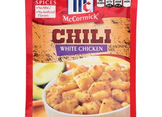 McCormick White Chicken Chili