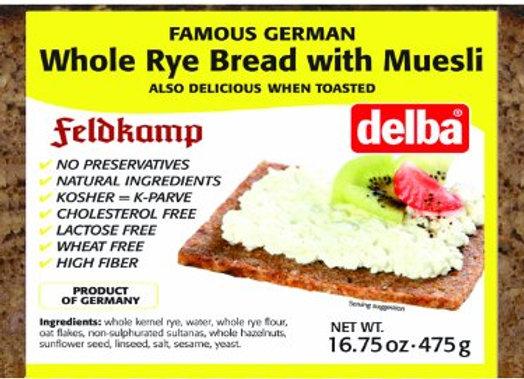 FeldKamp Whole Rye w/ Muesli