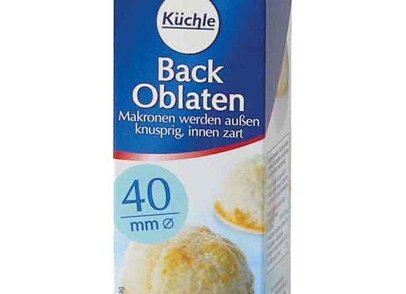 Kuchle Back-Oblaten