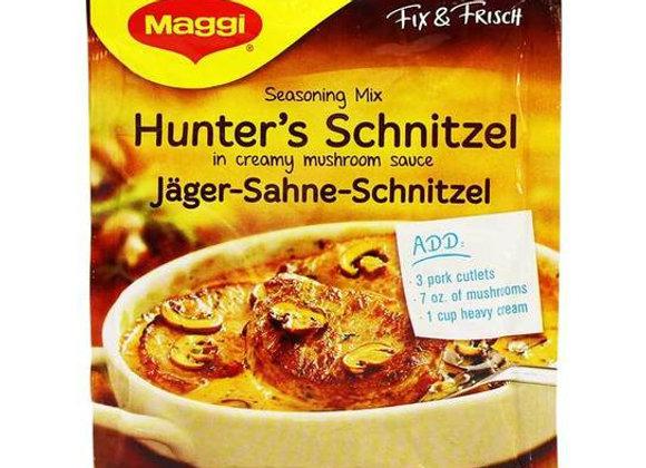 Hunter's Schnitzel (Jager-Sahne Schnitzel)