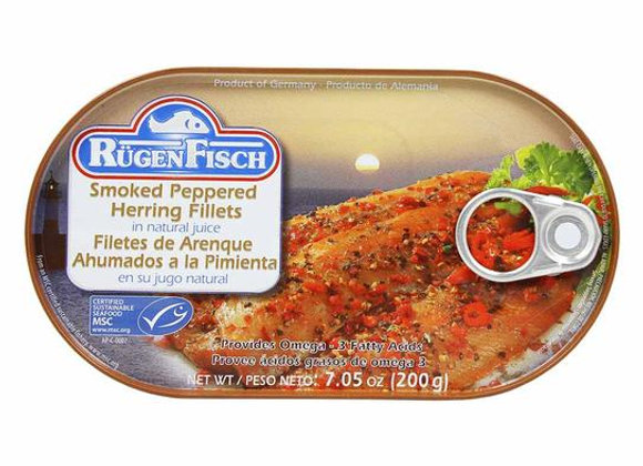 Rugen Fisch Smoked Peppered Herring Fillets