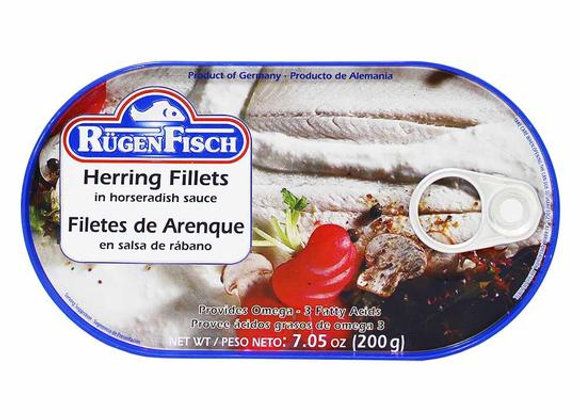 Rugen Fisch Herring Fillets (in horseradish sauce)