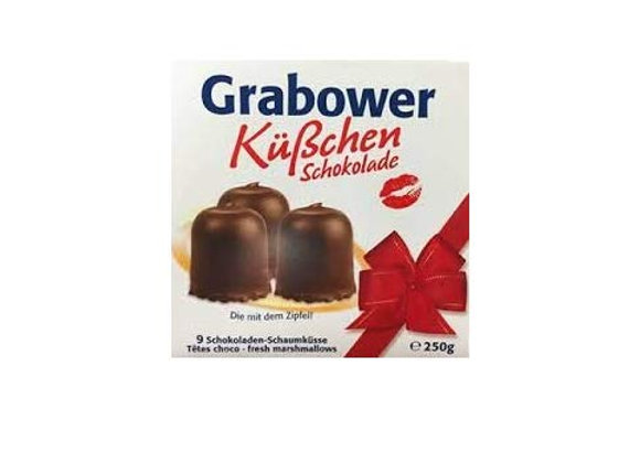 Grabower Topkus German Chocolate Covered marshmallow and wafer