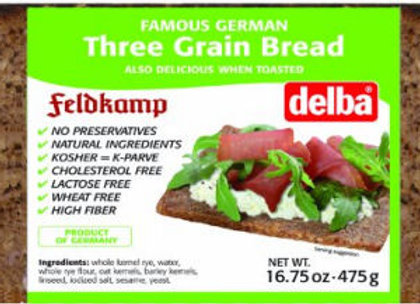 Delbd 3-grain Bread
