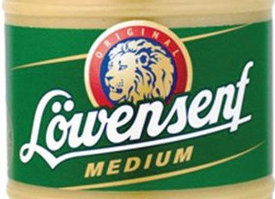Lowensenf Medium Hot Mustard 9.34oz
