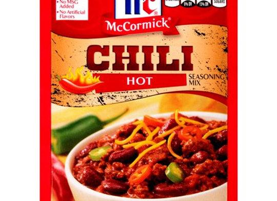 McCormick HOT Chili Seasoning