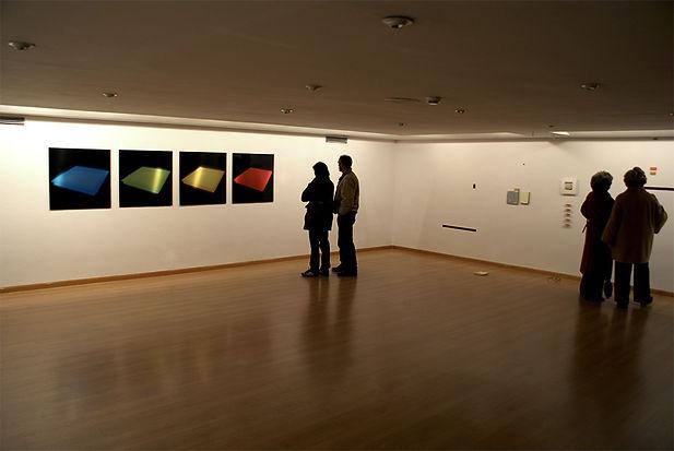 Beatriz Castela. Sham light, 2010. Site-specific installation. 10 Miradas. Galería Adora Calvo. Palacio de Garcigrande, Salamanca (SP)
