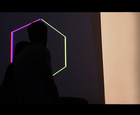 Beatriz Castela. RP (Relative Perception), 2015.  Site-specific installation.  Sala de exposiciones Hospedería Fonsenca, Salamanca (SP)